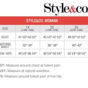 Style & Co Dresses - Style & Co Flannel Dress, Full Button Up
